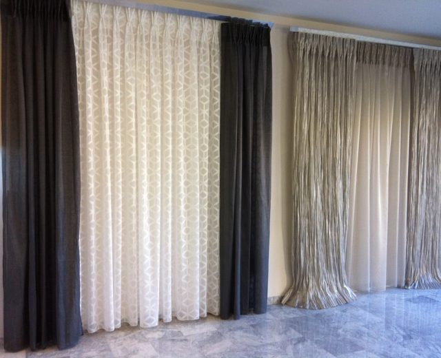 Cortinas Dobles